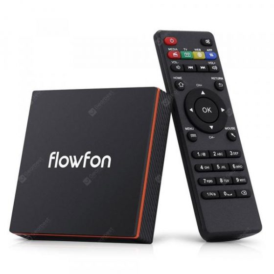italiaunix-Flowfon F1 Smart TV Box Android 9.0  Gearbest
