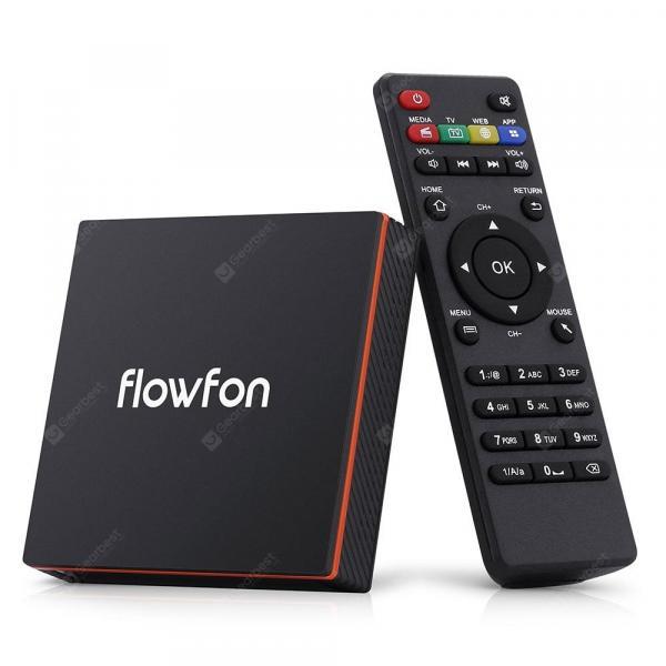 italiaunix-Flowfon F1 Smart TV Box Android 9.0  Gearbest