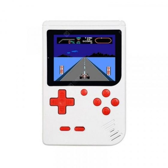 italiaunix-GONOKER Mini Portable Retro Handheld Game Console Players 3 Inch  Built in 168 Games  Gearbest