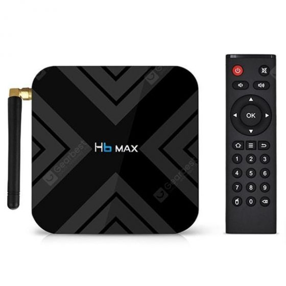 italiaunix-H6 Max TV Box Android 9.0  Gearbest