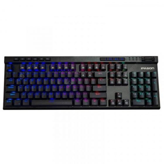 italiaunix-IPASON MP - A7 Wired Mechanical Keyboard  Gearbest