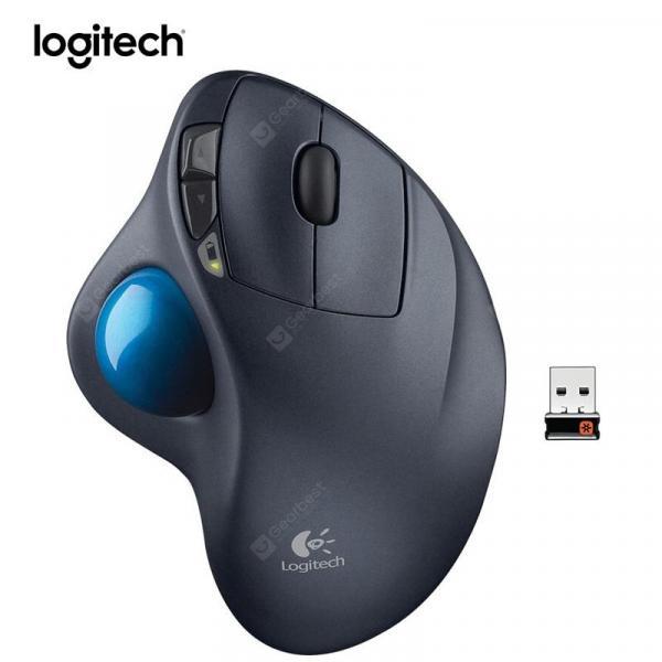 italiaunix-Logitech M570 Wireless Mouse with 1000DPI Optical Trackball Ergonomic Mouse for Windows 10 8 7 Mac  Gearbest