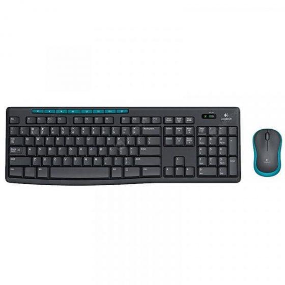 italiaunix-Logitech MK275 2.4G Wireless Optical Keyboard Mouse Set 104 Keys  Gearbest