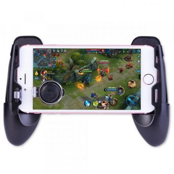 italiaunix-Minismile F1 Mobile Phone Gaming Joystick Controller Grip Case Gamepad for PUBG  Gearbest
