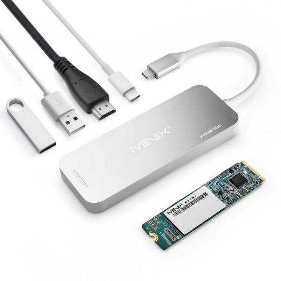 italiaunix-Minix NEO S2 240GB SSD USB Hub  Gearbest