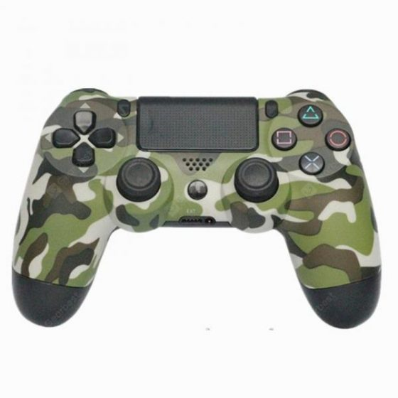 italiaunix-PS4 Bluetooth Vibration Game Controller Handle  Gearbest