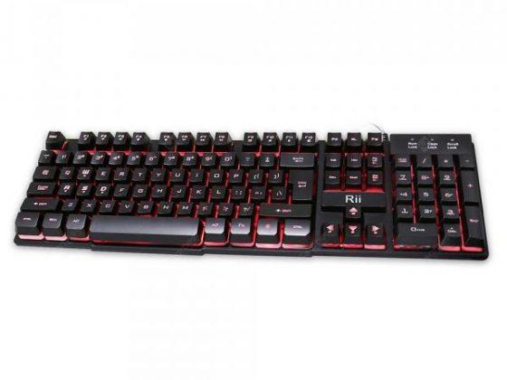 italiaunix-Rii RK100 Mechanical Feeling Gaming Keyboard UK Layout  Gearbest
