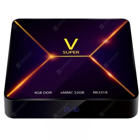 italiaunix-Super V TV Box Android 9.0  Gearbest