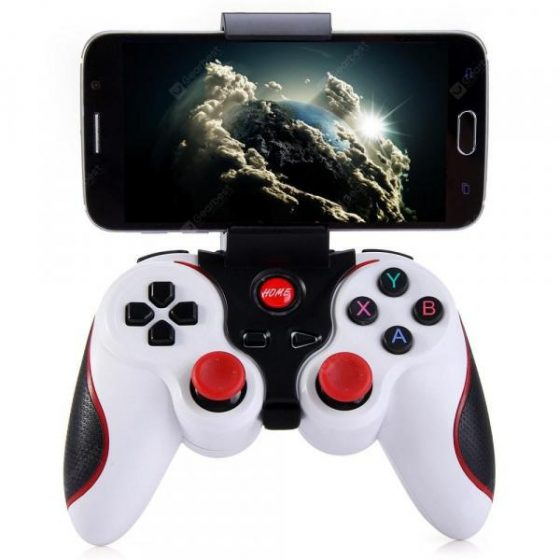 italiaunix-T3 Wireless Bluetooth 3.0 Gamepad Gaming Controller for Android Smartphone  Gearbest