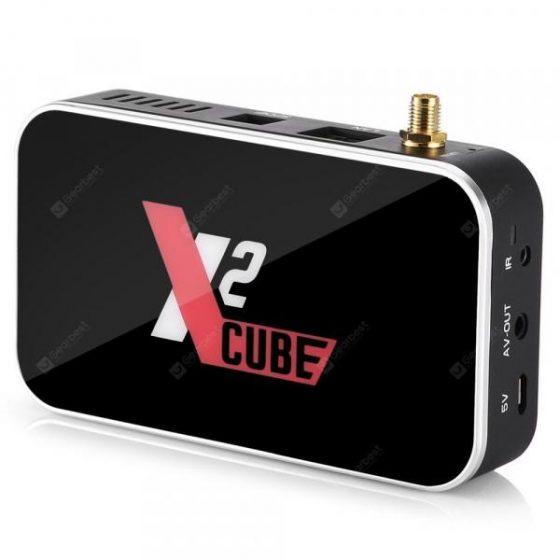 italiaunix-Ugoos X2 CUBE TV Box Android 9.0  Gearbest