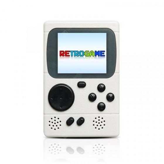 italiaunix-Video Game Console Mini Pocket Handheld Game Player Built-in 198 Classic Games Best Gift for Child  Gearbest