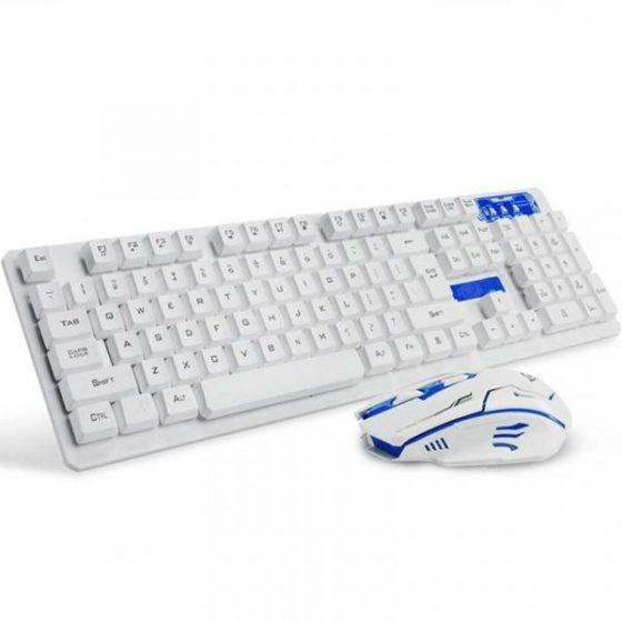 italiaunix-Wireless Office Keyboard and Mouse Kit 2.4GHz for Desktop  Gearbest