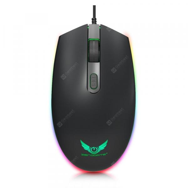 italiaunix-ZERODATE S900 Colorful Backlight Wired Mouse  Gearbest