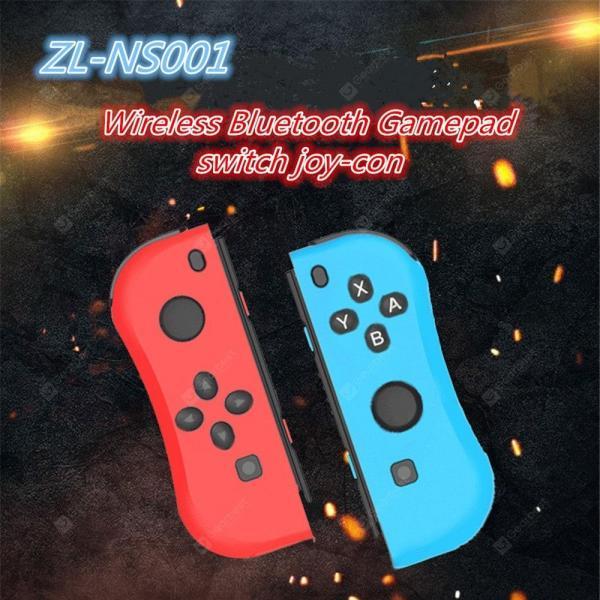 italiaunix-ZL-NS001 wireless controller NS left and right Bluetooth sensor gamepad grip  Joy-Con Switch  Gearbest