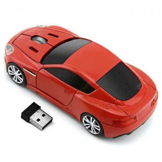 italiaunix-14 Car Shape Wireless Mouse 1200DPI  Gearbest