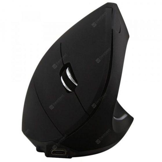 italiaunix-2400DPI Ergonomics 2.4GHz Wireless Vertical Mouse  Gearbest