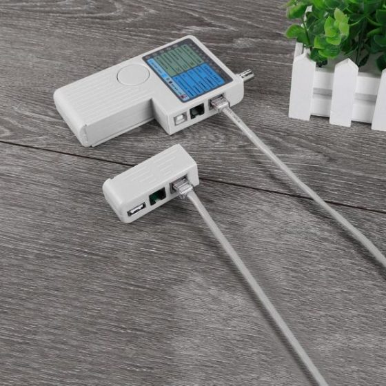 italiaunix-4-in-1 Remote RJ11 RJ45 USB BNC Cable Tester  Gearbest