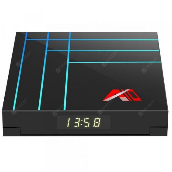 italiaunix-Bilikay A10 Media Player Android 9.0 Smart TV Box Visualization Times  Gearbest