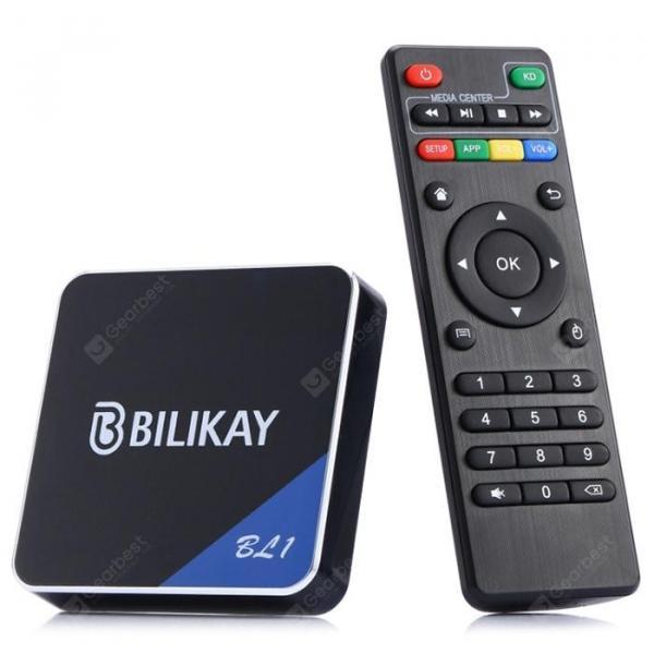 italiaunix-Bilikay BL1 S905W Android 9.0 Smart TV Box Home Cinema  Gearbest