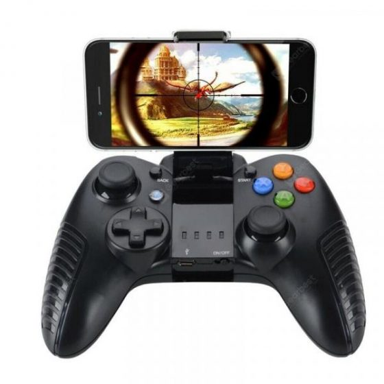 italiaunix-Bluetooth Gamepad Wireless Joystick Receiver for Samsung Apple PC V3 Game Touch  Gearbest