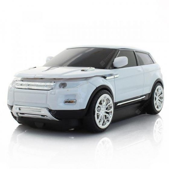 italiaunix-CM0013 Sports Car Shape Ergonomic Wireless Mouse  Gearbest