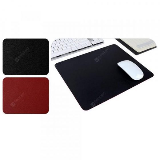 italiaunix-Double-Sided Two-Color Soft PU Leather Super Large Desktop Waterproof Mouse Pad  Gearbest