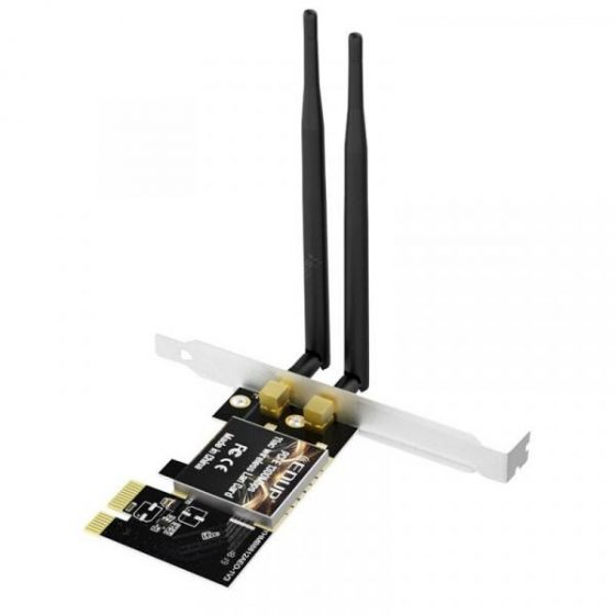italiaunix-EDUP EP - 9607 Dual-Band 1300Mbps PCI-E Wireless WiFi Adapter Express Network Card  Gearbest