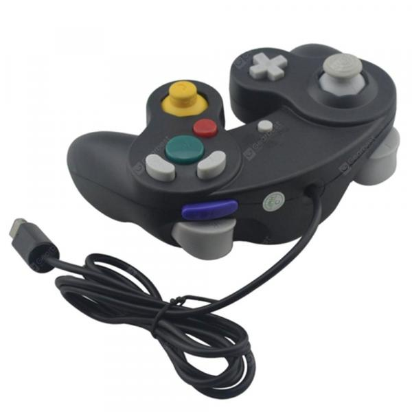 italiaunix-Gamecube GC 1 Interface Wired Joystick Game Controller for Nintendo  Gearbest