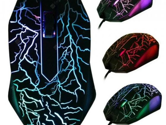 italiaunix-LED Optical 3 Buttons 3D USB Wired Gaming Game Mouse Pro Gamer Computer Mice  Gearbest