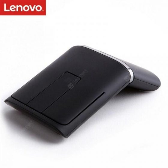 italiaunix-LENOVO N700 Wireless Mouse with Laser Pen 1200DPI USB Dual Connectivity Mouse PPT 3D Touch  Gearbest