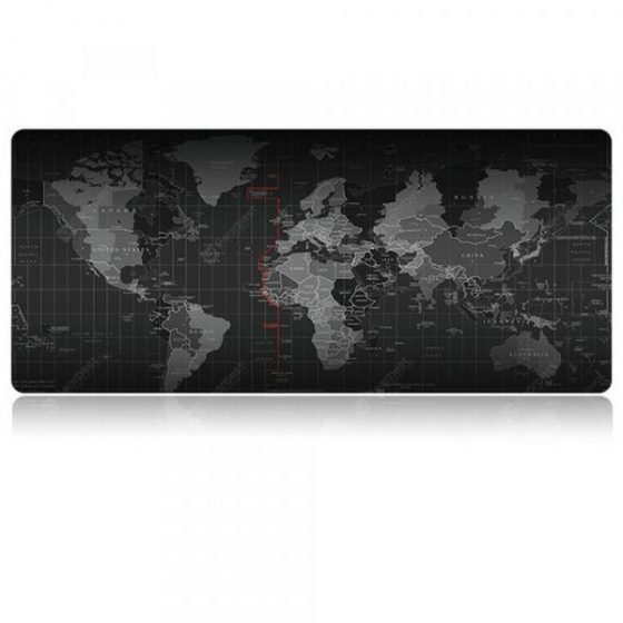 italiaunix-Large Waterproof Office World Map Mouse Pad  Gearbest