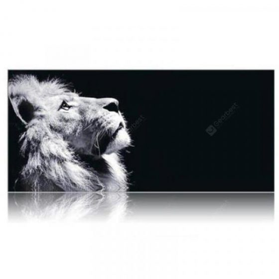 italiaunix-Lion Printed Large Gaming Mouse Pad for Desktop Laptop Supersize Pad  Gearbest