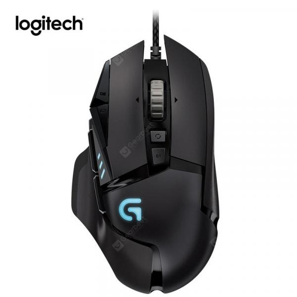 italiaunix-Logitech G502 PROTEUS SPECTRUM Gaming Mouse 12000DPI Wired RGB Mouse with Delta Zero for Games  Gearbest