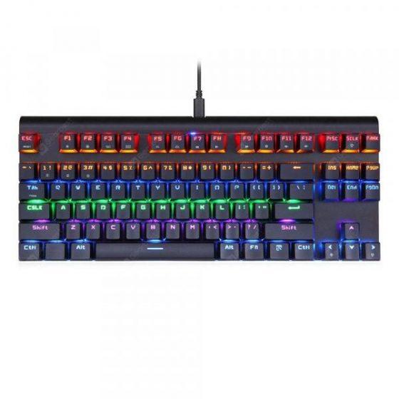 italiaunix-MOTOSPEED K83 Portable Bluetooth 3.0 Keyboard Keypad  Gearbest