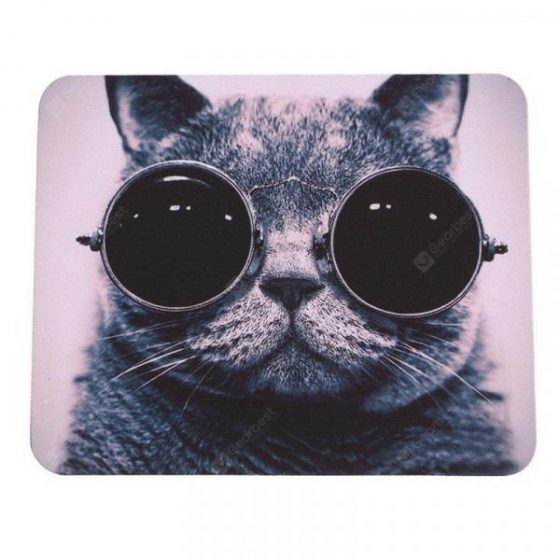 italiaunix-Mouse Pad Hot Cat Picture Anti-Slip Laptop PC Mice  Gearbest
