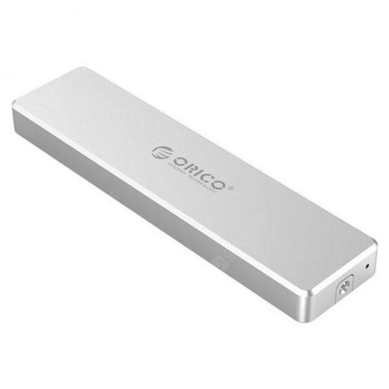 italiaunix-ORICO Mini U-disk Size Clip Type M.2 SSD Hard Drive Aluminum Alloy  Gearbest