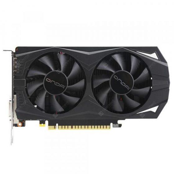 italiaunix-Onda GeForce GTX1050Ti Double Fan Cooling Graphics Card  Gearbest