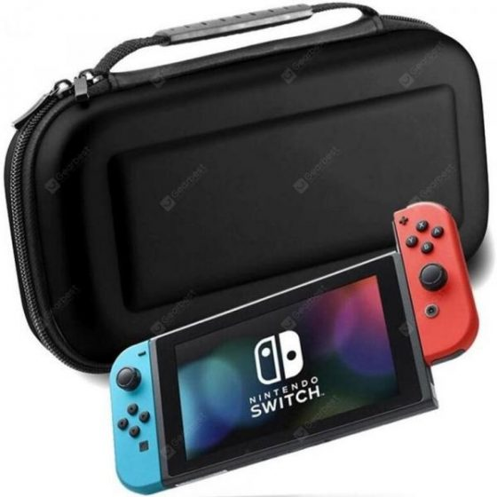 italiaunix-Portable EVA Shell Protective Carrying Bag Hard Travel Case for Nintendo Switch  Gearbest
