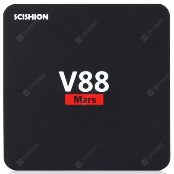 italiaunix-SCISHION V88 Mars Android TV Box Quad-core CPU  Gearbest