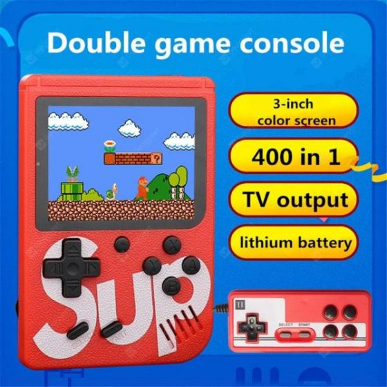 italiaunix-SUP rechargeable 400-in-1 classic handheld game console  Gearbest