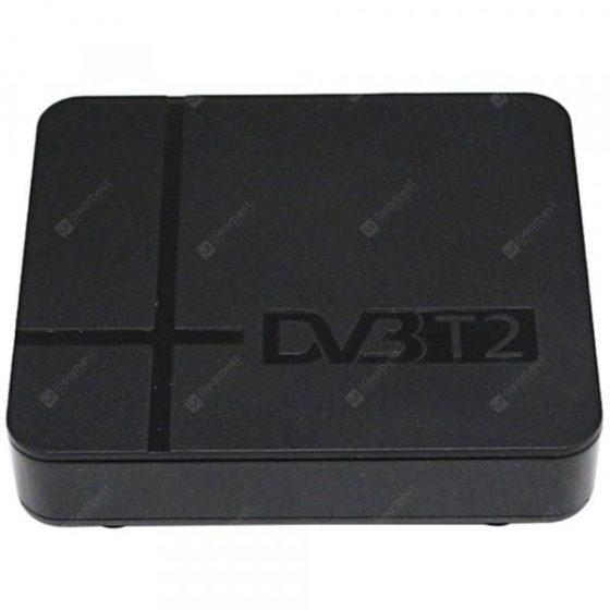 italiaunix-T2 - K2 DVB-T2 FTA Ground HD TV Box Support H.264  Gearbest
