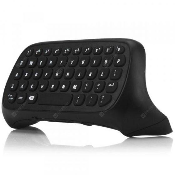 italiaunix-TYX-586 2.4G Wireless Mini Chatpad Keyboard Keypad  Gearbest