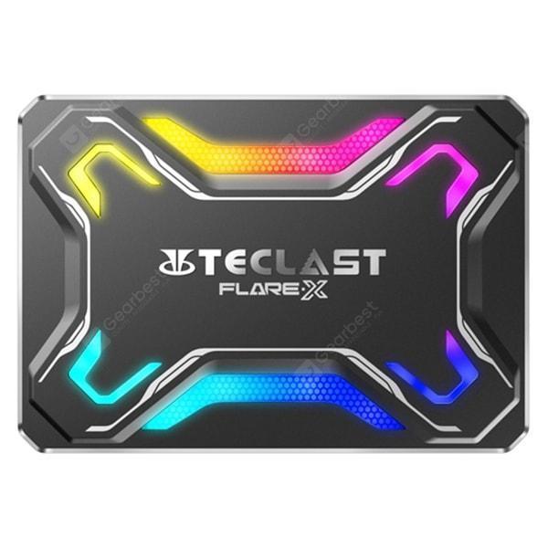 italiaunix-Teclast FLARE·X F600 2.5 inch SATA RGB Solid State Drive  Gearbest