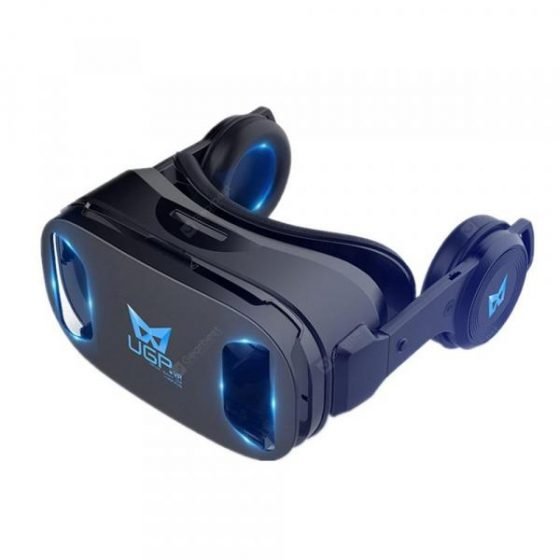 italiaunix-UGP U8 VR Glasses 3D Headset Version Virtual Reality Helmet Best Gift  Gearbest