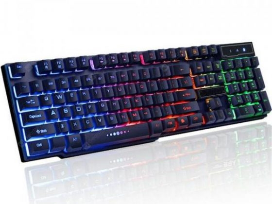 italiaunix-USB Wired Keyboard Backlit Gaming Keyboard for Desktop  Gearbest
