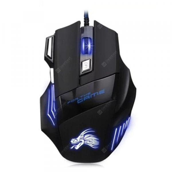 italiaunix-USB Wired Optical Gaming Mouse Backlit Game Mice  Gearbest