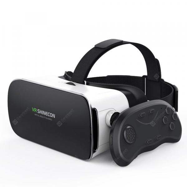 italiaunix-VR SHINECON 3D Glasses Mobile Phone Virtual Reality Helmet Remote Control  Gearbest
