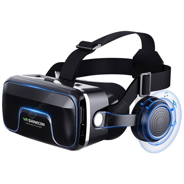 italiaunix-VR SHINECON G04E-A Universal 3D Virtual Support Head Control Panoramic Mode 4.7-6.0 Inch Smartphone VR Glasses  Gearbest