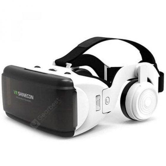 italiaunix-VR SHINECON G06E VR Glasses 3D Virtual Support Head Control Panoramic Mode 4.7 - 6.0 Inch Smartphone Universal  Gearbest