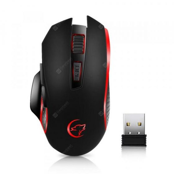 italiaunix-YWYT G821 Blasting 2.4 G Wireless Game Mouse Portable Mouse Office Home First Ch  Gearbest